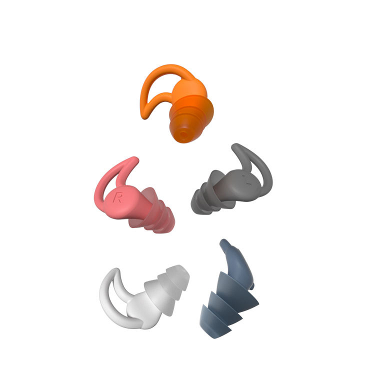 2020 New Design Hot Sale Waterproof Silicone Ear Plugs for Sleep,Swim