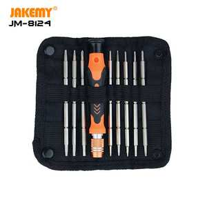 Jakemy Hot Selling Mini Schroevendraaier Set Met Phillips Hex Sleuven U-vorm Driehoek Bits In Oxford Tas Voor Diy reparatie