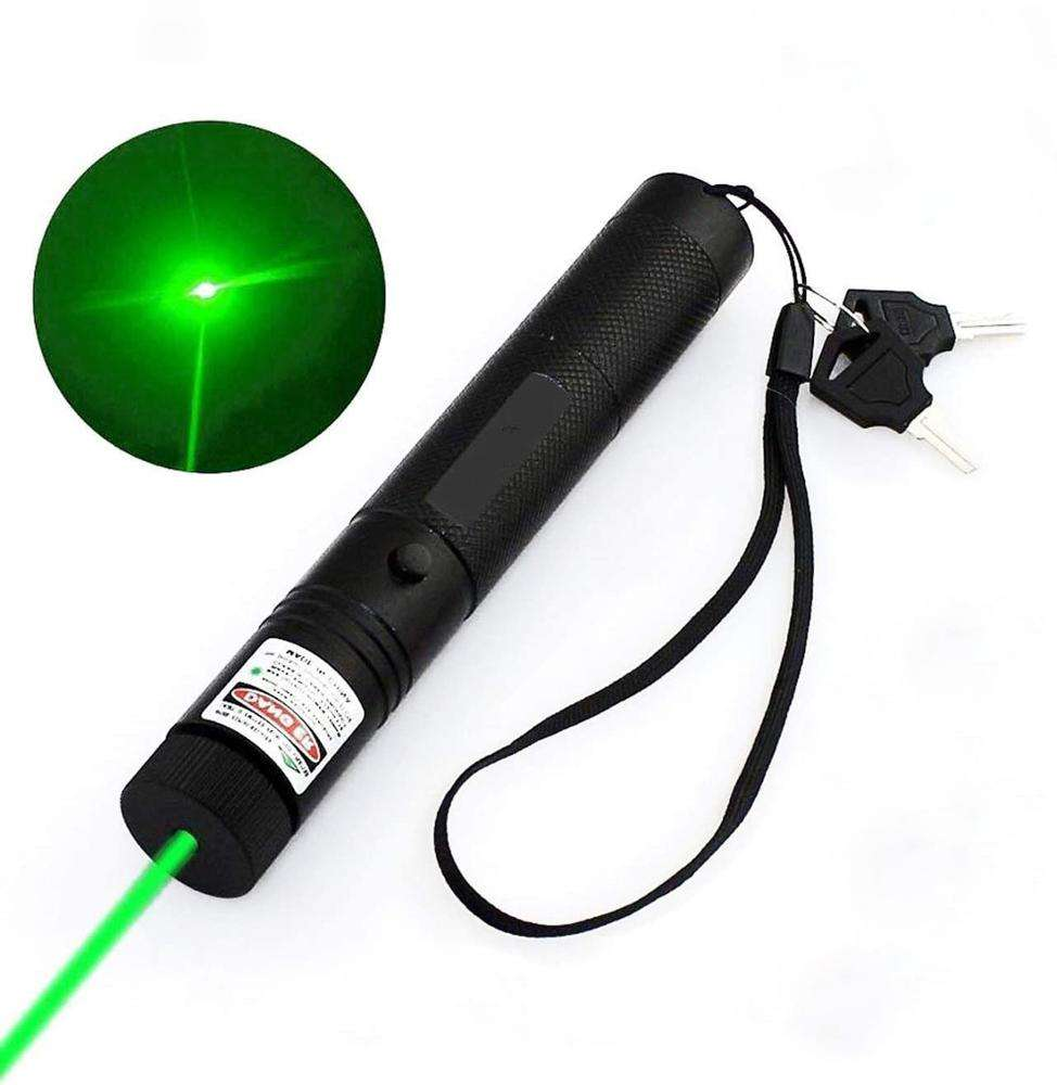 Infrared Flashlight, Multi-purpose Aluminum 1*18650 battery Powered Rechargeable High Power Red Laser Pointer Flashlight Torch