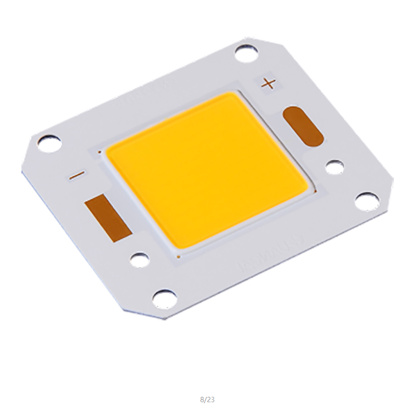 High Power 50W 100W High Efficacy 140-150LM Bridgelux Chip Copper Base LED COB Module for Floodlight