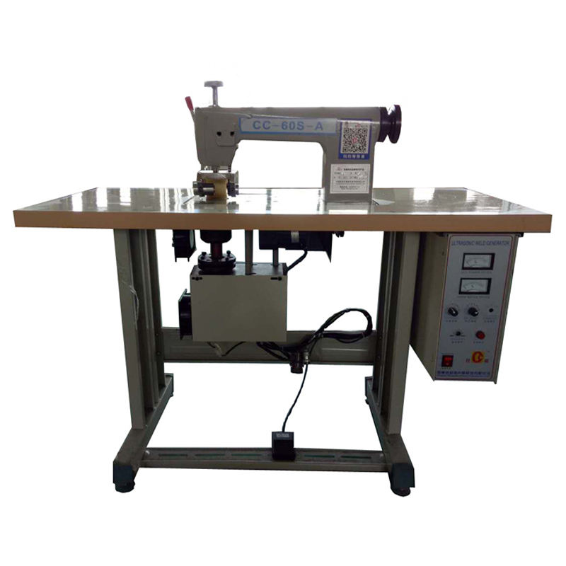 CC-60 ultrasonic sewing machine for nonwovens for textile fabric