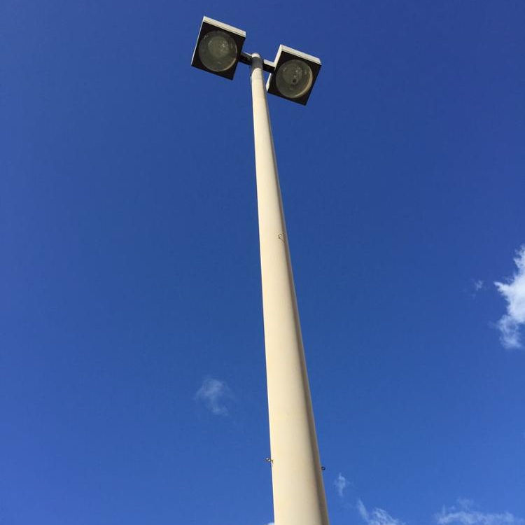 Self - Supporting Outdoor LED Display High Mast Light Pole For Square Lighting