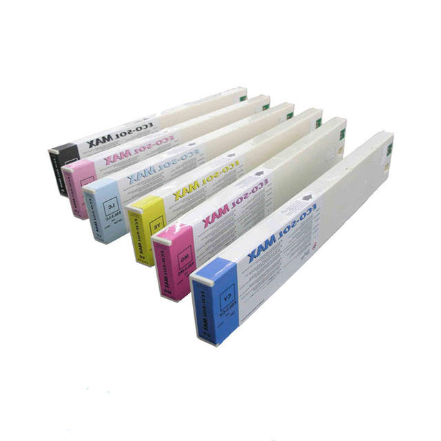 440ML DX-5 Eco Solvent Ink Plug And Print Roland Eco Sol Max Ink Cartridge