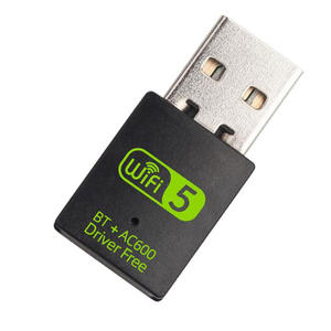 802.11 AC/ B/G/N 600Mbps Wireless USB Adapter WiFi Bluetooth Dongle