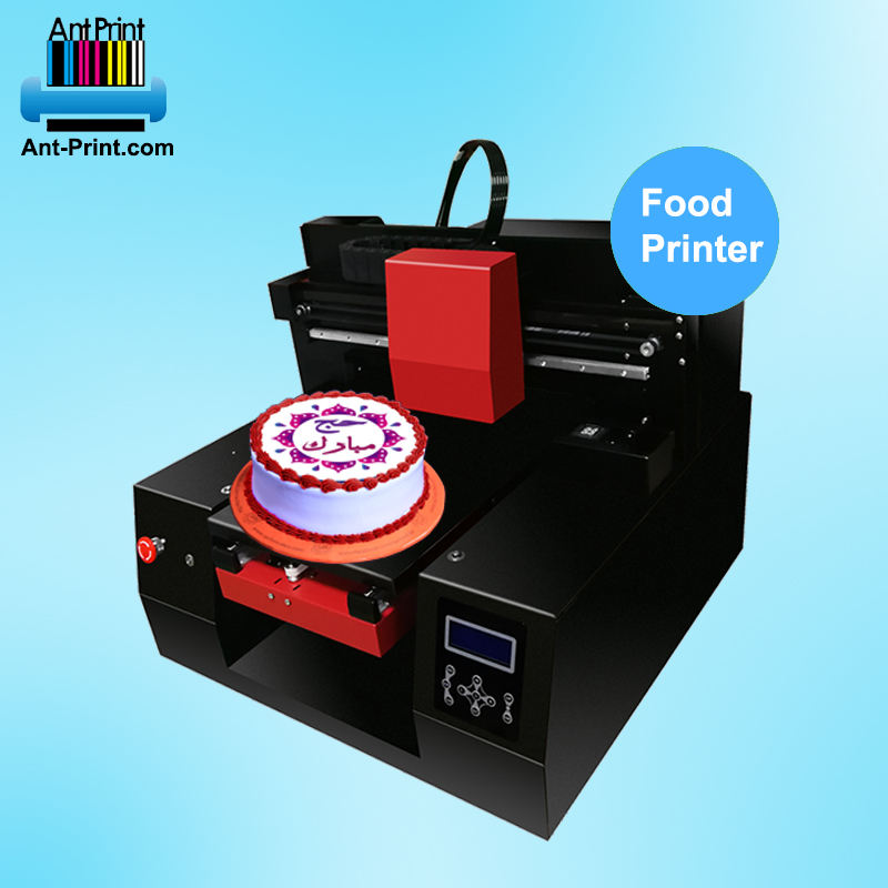 Inkjet Food Grade Printer A3 Kue Edible Makanan Mesin Pencetak Kue Macaron Candy Marshmallow Coklat Printer Edible Ink