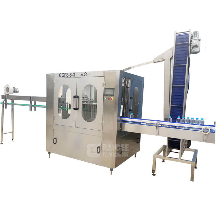 Automatic Three In One Drinking Water Washing Filling Capping Machine