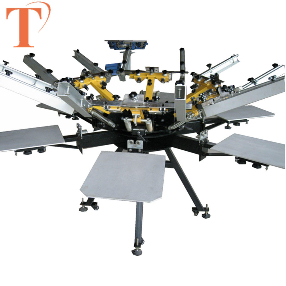 Good Price Manual Carousel Silk Screen Printing Machine equipment with 6 Color 6 Station