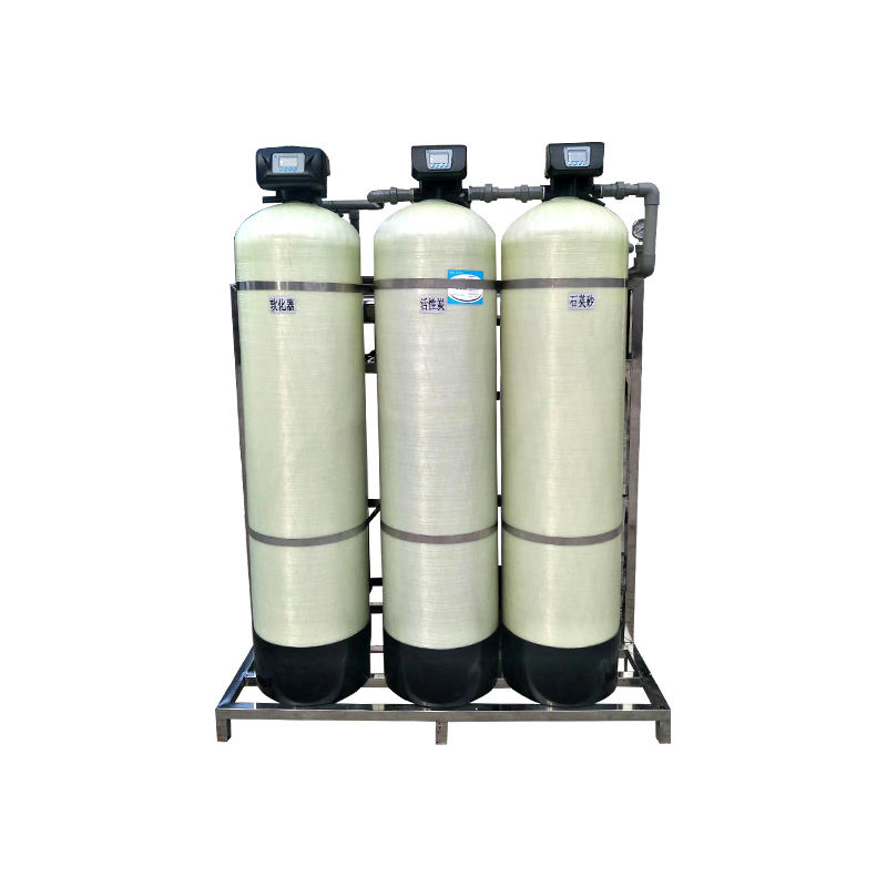 SANTAI Good Corrosion Resistance Low Price Multimedia Filter Tank