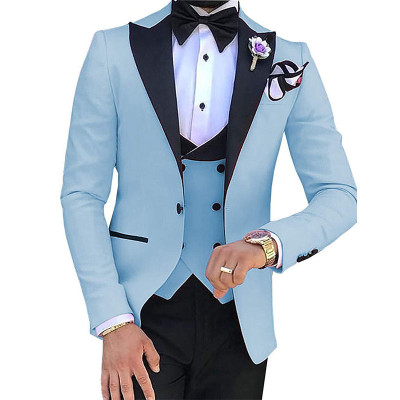 Custom Men Wedding Suits Unique Designed Elegant Wedding Tuxedos Suits Groom Tuxedos For Men