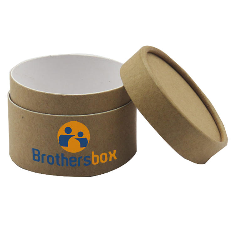 Custom Small Round Cylinder Recycled Box Kraft Paper Tube Packaging