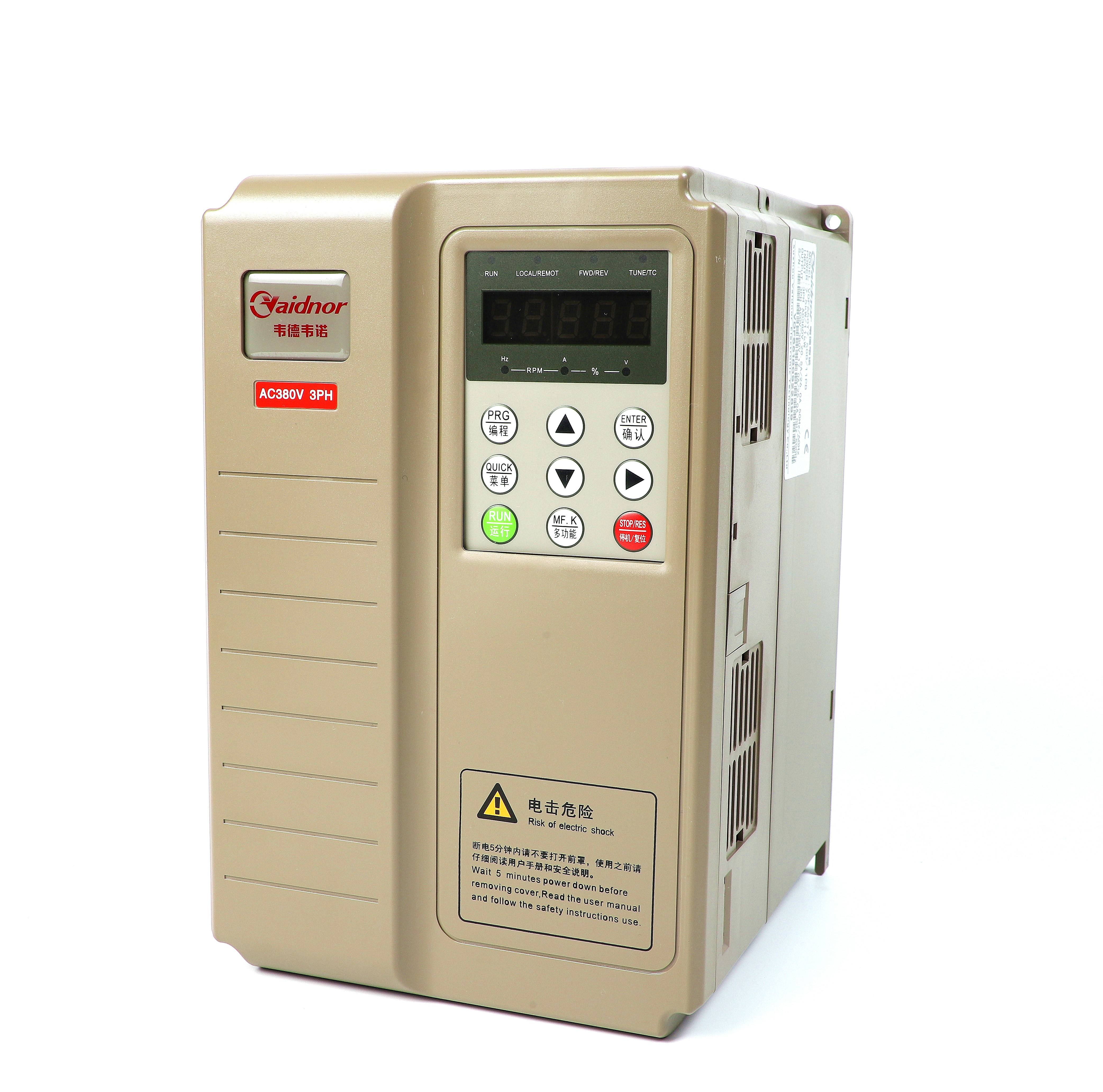 classic powerful hi-performance current vector type frequency inverter triple phase 380v 4.0kw mini power ac drive