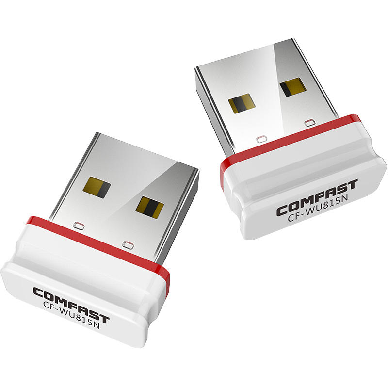COMFAST CF-WU815N Driver-Free Desktop Laptop Accessories Ethernet WiFi Receiver Network Card Wireless USB Adapter