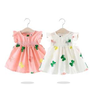 Sweet bishop dress rose summer baby dress pink Small simple organic baby  dress