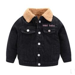 2020 Factory Direct Sales Baby Multi Functional Eco-Friendly Fleece Lining Jeans Jacket