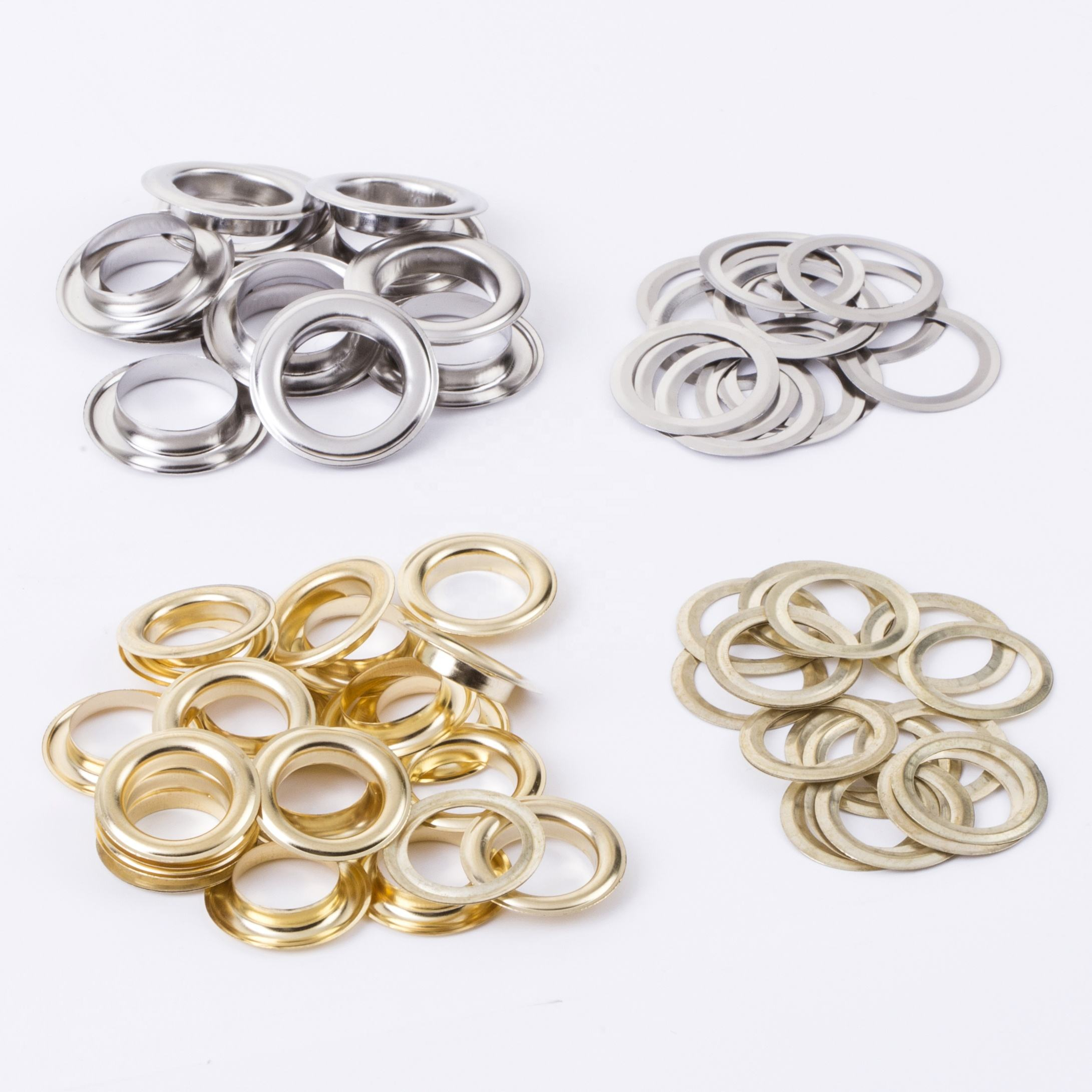 Round Eyelet for Garment Accessory and Garment Accessories for Garment