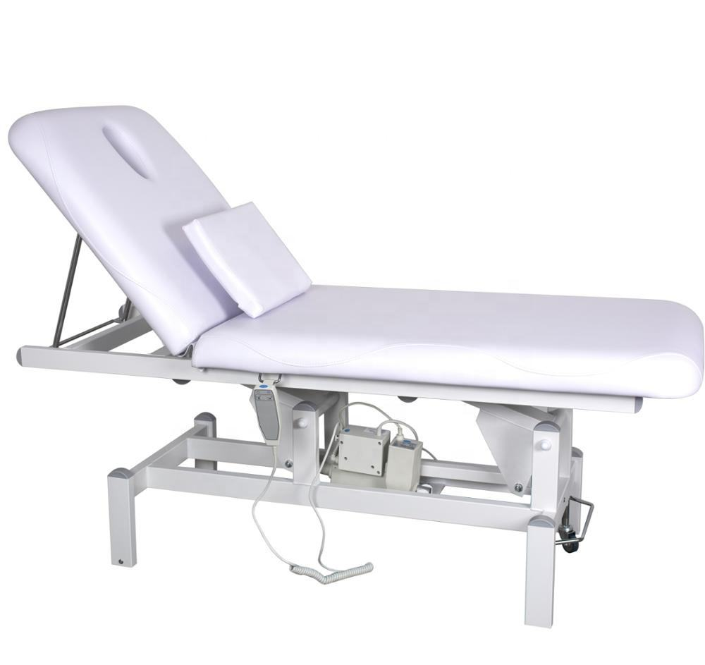Metal Physical Therapy Electric Traction Treatment Table