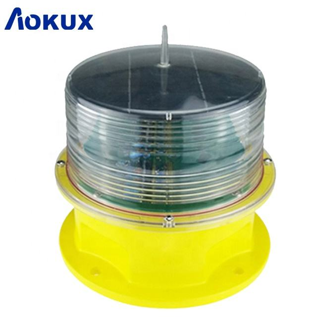 Aokux exciting 3- 5NM Marine warning light / marine LED lanterns /solar beacon lanterns