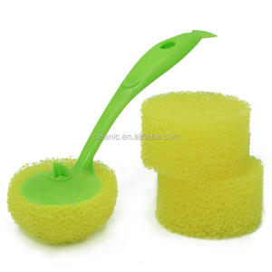 Reticular Shape Loofah Brush Easy Clean Kitchen Ware Pot and Pan Brush