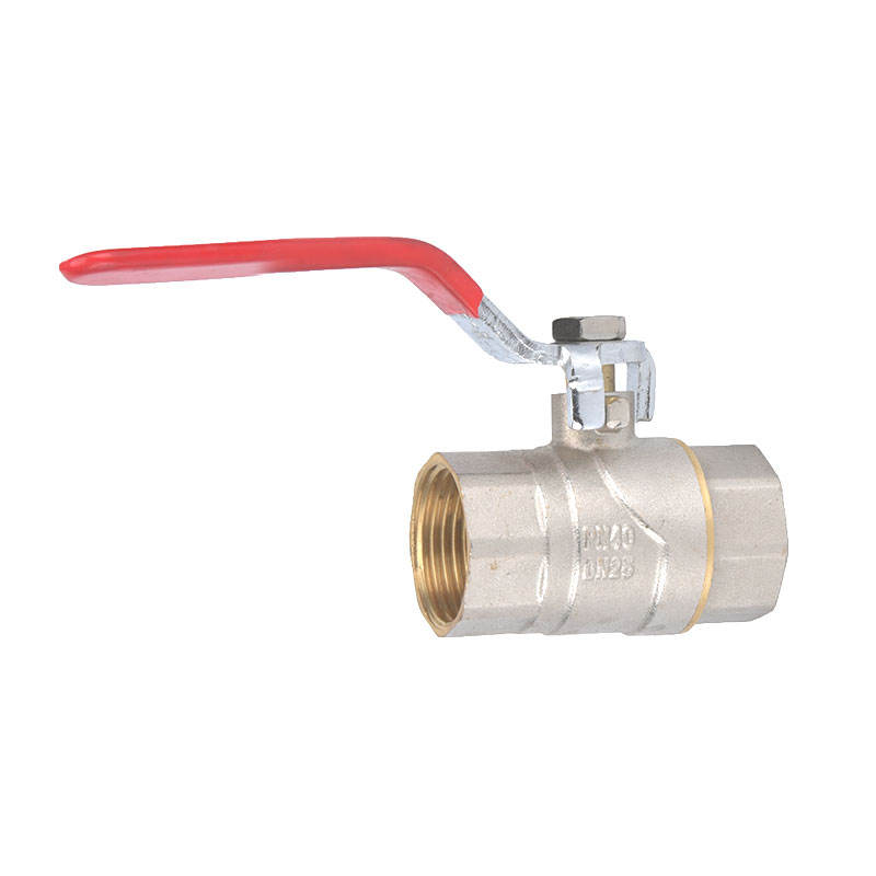 JD-4080 Nice quality brass 1 inch 2pc manual ball valves threaded