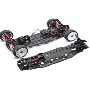 Custom 1/10 Scale On Road Race Drift RC Car Chassis carbon fiber frame Rc Drag Chassis Kits