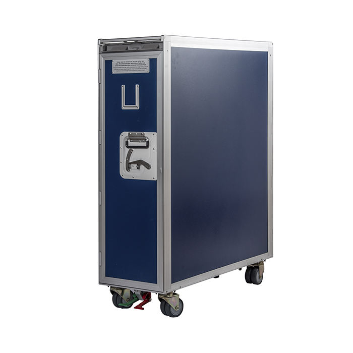Aluminum Alloy [ Trolley ] Durable Aluminum Alloy Catering Airline Food Trolley