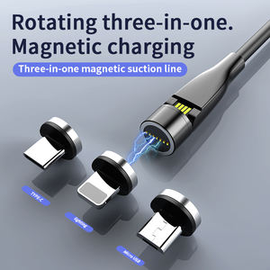 3 in 1 cable usb android data sync charger magnetic micro magnet