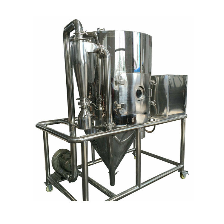 Laboratory types of spray dryer machine coffee isolator for dragon fruit drying equipment price principle