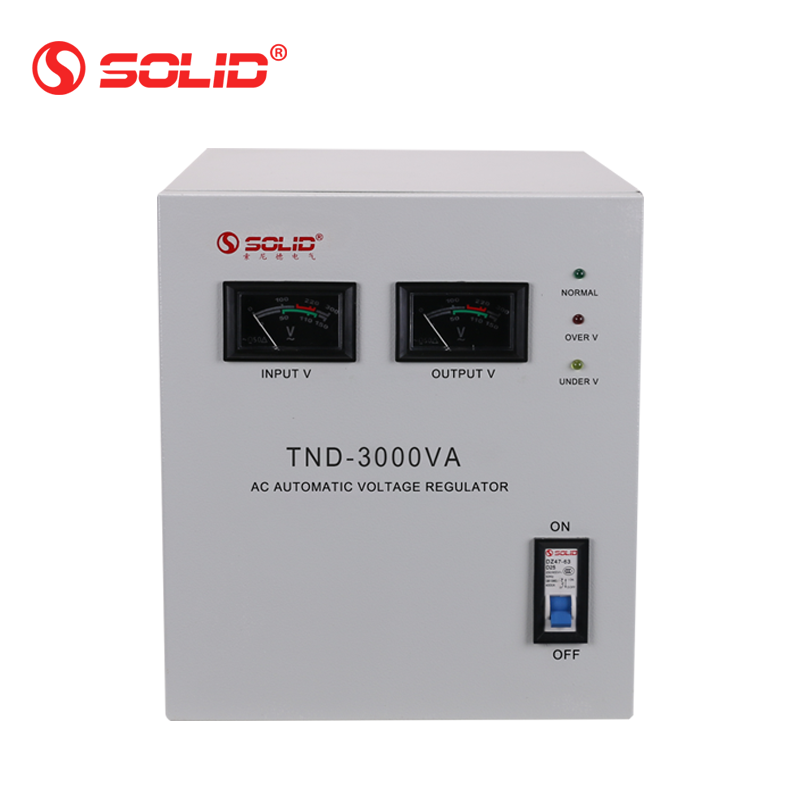 SOLID SVC TND-3000VA 3KVA Single Phase Automatic Voltage Regulator Stabilizer with LED display