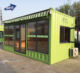 Shipping Container fast food restaurant mobile restaurant for sale steel container house as restaurant plan