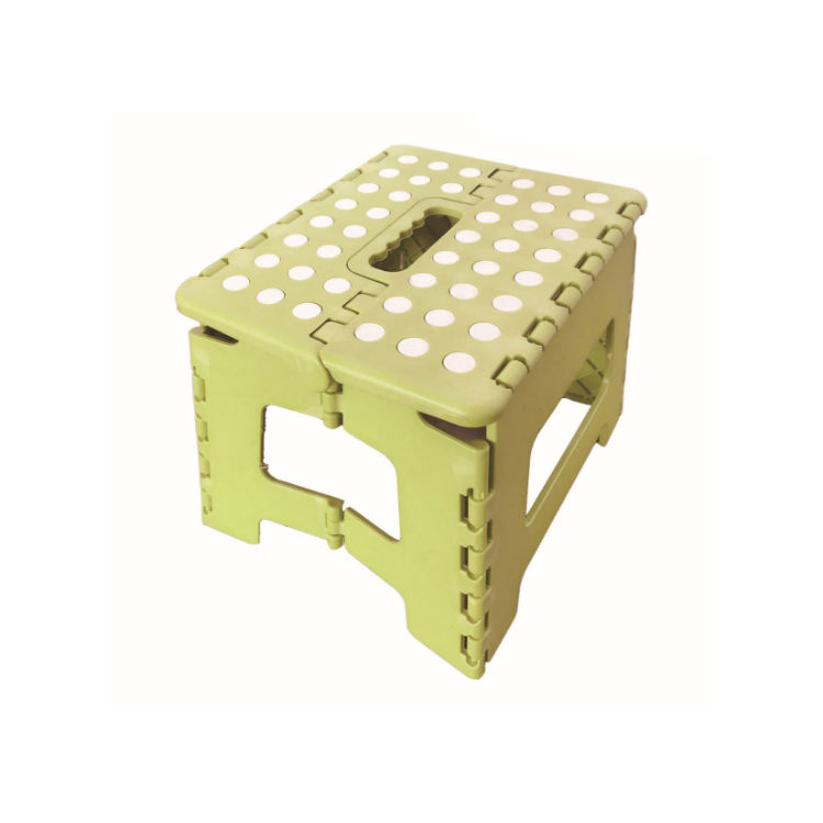 Factory Wholesale Portable Children Plastic Material Camping Folding Step Stool