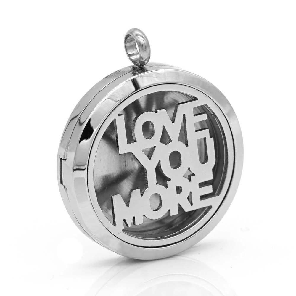 Children's [ Necklace Love ] Best Selling Tree Of Life Pendant Aromatherapy Essential Oil Diffuser Necklace Women Men I Love You Perfume Locket Pendant*