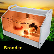 Poultry Chicken Brooder Heater Cage Lamp Coop Homeuse Chicken Brooder Box for Chicken Warm