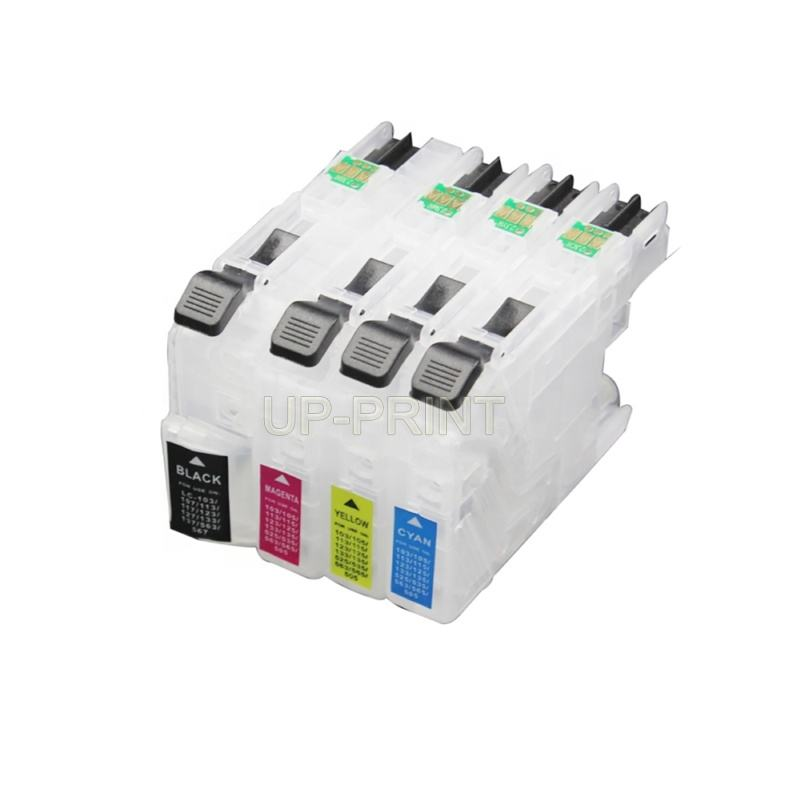 Empty refillable Ink Cartridge LC20E for Brother MFC-J5920DW MFC-J985DW MFC-J985DW XL printer