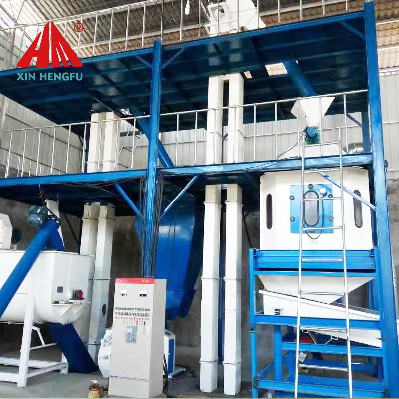 large capacity poultry feed mill pellet poultry meal portable containerized feed mills