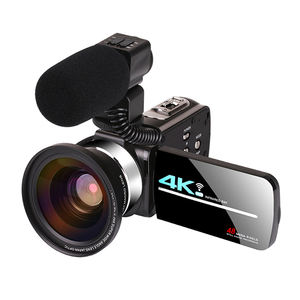 UHD Digital Camcorder 48MP Vlogging Kamera untuk YouTube Live Streaming WIFI Malam Visi Kamera Video 4K Handycam Camcorder