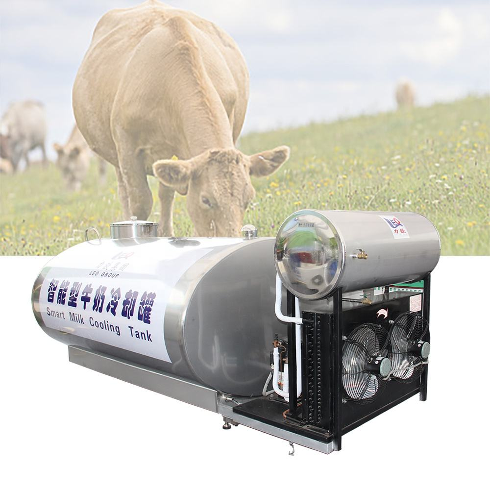 500 liter Auto electronic measuring milk hold tank