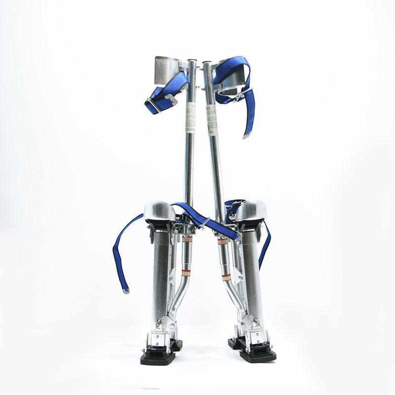 "drywall stilts 24"" to 40"" adjustment tool for construction long ladder"