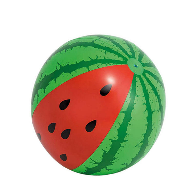 103cm Inflatable Ball Simulation Watermelon Rubber Ball Beach Pool watermelon beach ball