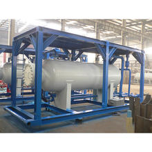 Oilfield multi-stage well test separator / gas liquid separator / 2 phase separator