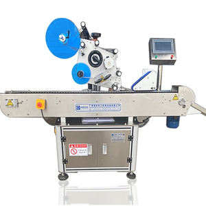 Factory Round Ampoule Bottle Labeling Machine Full Automatic Label Equipment Label Machine for Glass Bottle