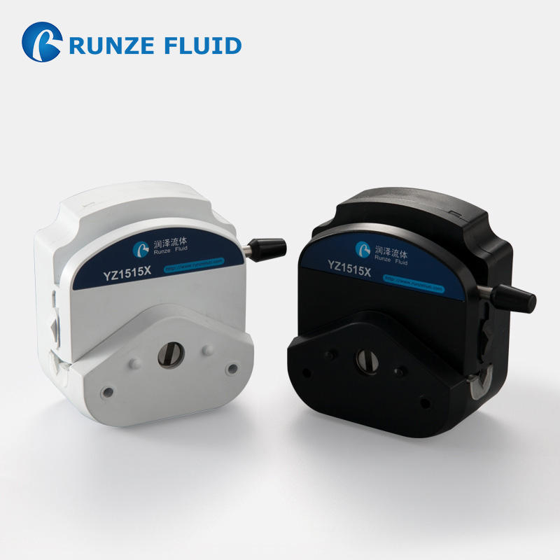Silicone Rubber Tube 6 Rollers YZ1515 Peristaltic Pump Head