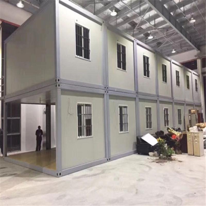 Contenedor de envío prefabricado casa prefabricada de lujo moderna para oficina de apartamento en venta