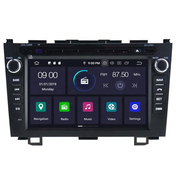 2021 new design 8 inch touch screen car DVD player Subwoofer Boxes for HONDA CRV 2006-2011 with mirror link