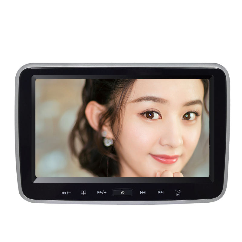 Car Headrest Video Cheap 10inch Slot-in Car DVD Player Headrest Mount Monitor Car Video With IR FM Speakers