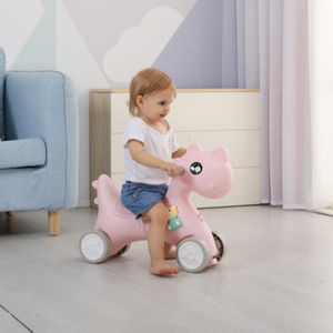 Gift for baby boy baby girl rocking horse slide car toy 2 in 1