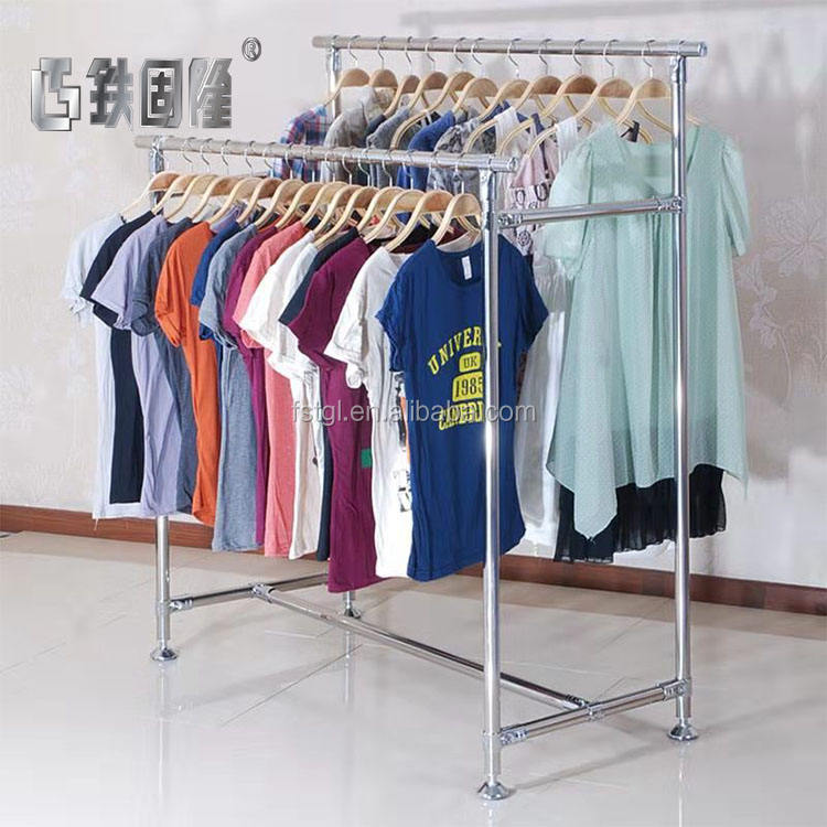 ODM/OEM customizable clothing store stand-up display stand