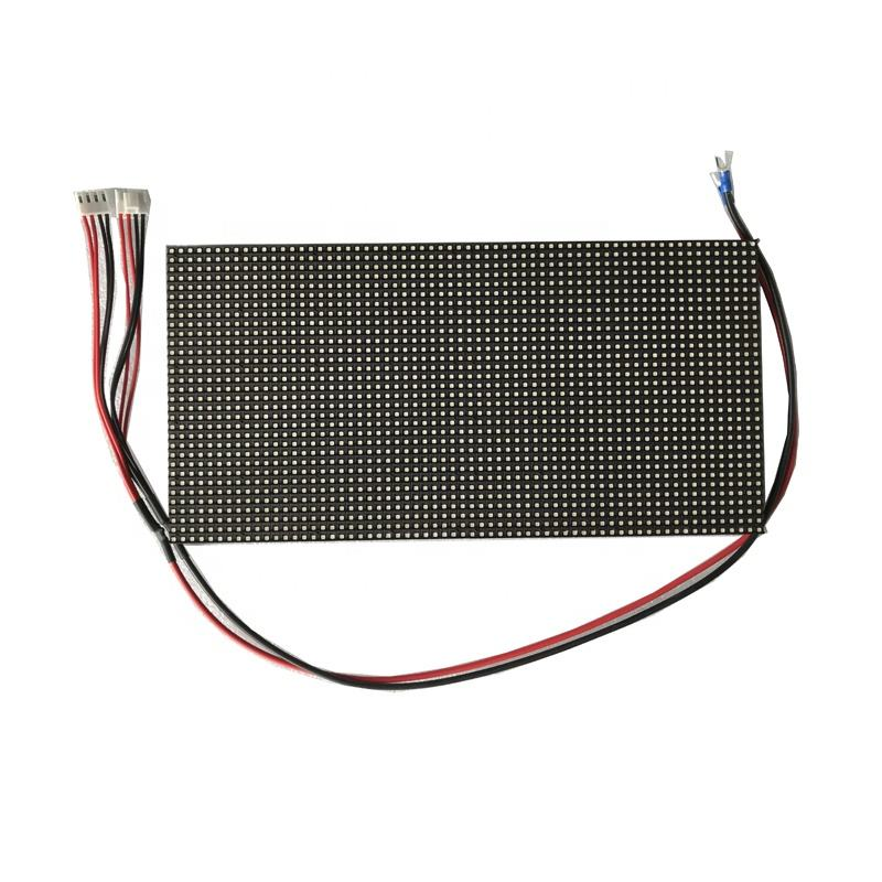 Taxi top ful lcolor video P5 led-anzeige modul 1921/2727 nation stern led chip