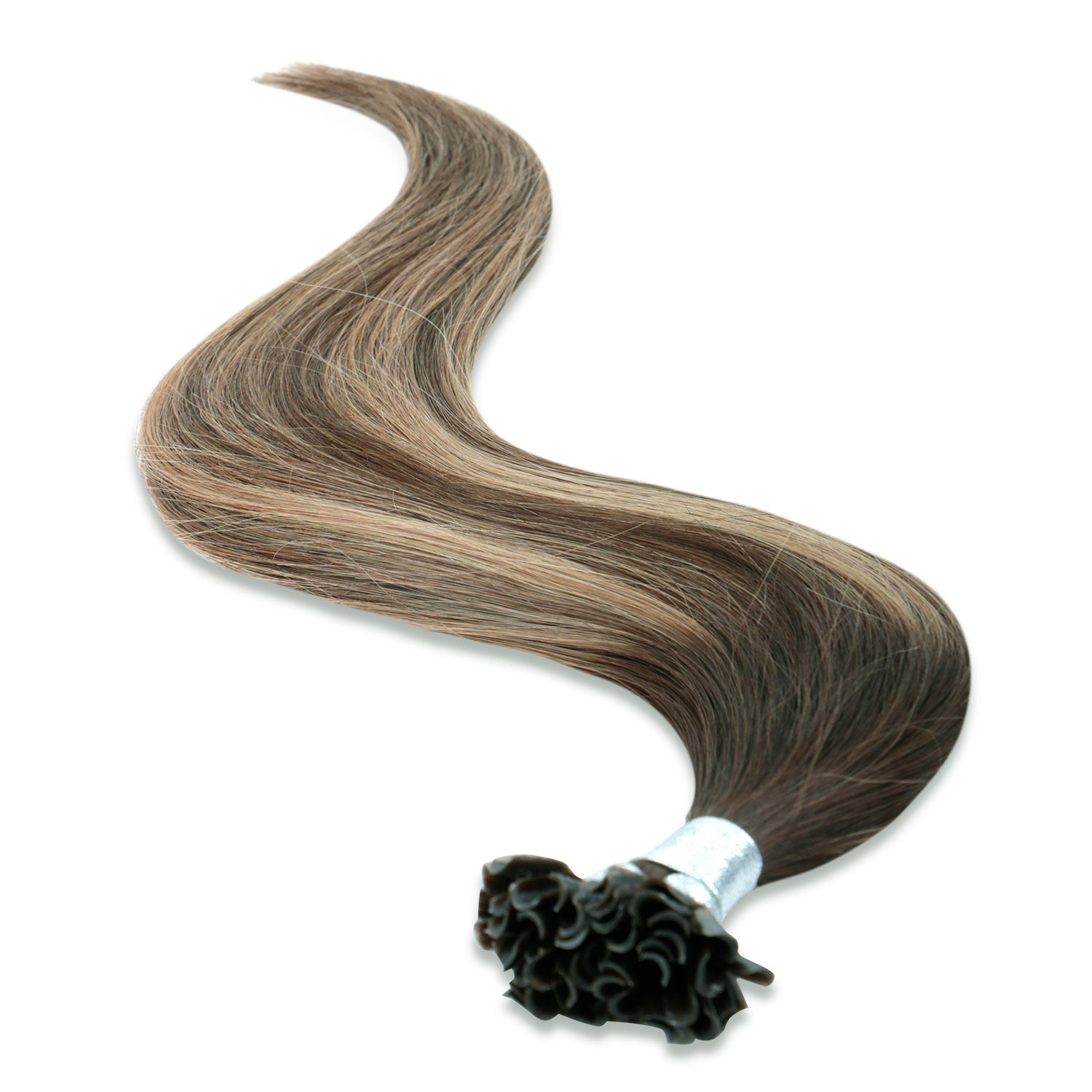 High Quality Hair Extensions High Quality Nail Hair Extention 100% Keratin Pre Bonded Peruvian U Tip Human Hair Extension
