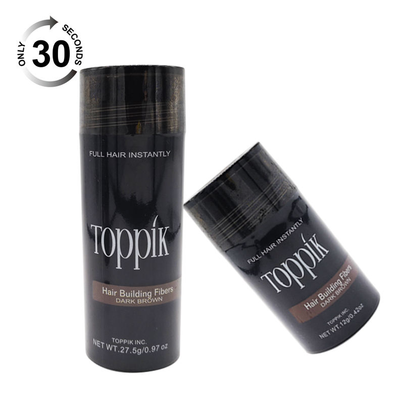 2020 original Hair Building Fibers Concealer Black Color spray applikator für männer und frauen haar <span class=keywords><strong>wachstum</strong></span> pulver