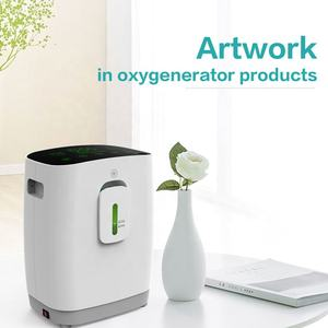 Factory Low Price China new design portable oxygen concentrator machine 2L - 9 Oxygen Concentrador Oxigeno with Nebulizer